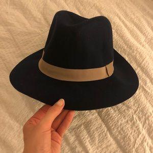 D&Y Navy Wool Hat Nordstrom